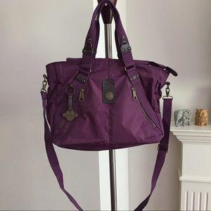 Kipling Purple Handbag/Tote/Crossbody Bag